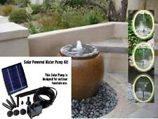 POND FOUNTAIN SOLAR WATER PUMP,155LPH 1.5W, WATER FEATURE, OXYGEN FOR FISH