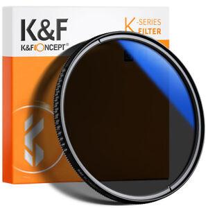 K&F Concept 37-82 mm Circular Polarizer Glass Filter Ultra-Slim Multi Coated