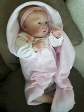 Reborn realborn Zuri baby girl doll micro rooted