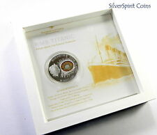 2012 $10 TITANIC WINDOWS OF HISTORY 50g Silver Proof Coin