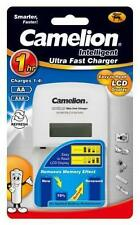 New Camelion BC-0907 1 hour ultra fast battery charger ( LCD Display, Refresh )