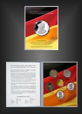 Blister MDM Folder 2013 mit 5 x 10 Euro Gedenkmünzen 2013