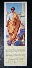 JULIUS CAESAR    Shakespeare    Mark Antony   1930's Vintage Card