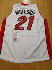 HASSAN WHITESIDE - Miami Heat Signed jersey with 2 COA's