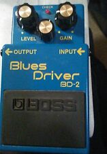 BOSS Blues Driver Guitar foot pedal  - NEVER USED