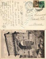 2426 - Regno - Annullo Fornovo Taro Telegrafo su cartolina da Viterbo a Parma