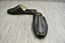 **L.B. Evans Duke Scuff 2761 Slippers, Men's Size 8.5EEE, Black NEW