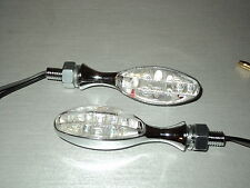 2 LED INDICATORE DI DIREZIONE YAMAHA DT80 GT80 LAMPEGGIANTE Color Ambra 6V 6