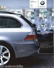 Prospekt BMW 5er Touring 2004 Autoprospekt 4 11 005 239 535d 530d 525d 545i 525i