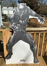 """2016 Black Panther Movie Theater Color Figure Display Standee 50"""" Tall"""