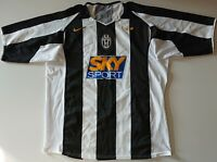 JUVENTUS ITALY 2004/2005 HOME FOOTBALL SHIRT JERSEY NIKE SIZE L ADULT