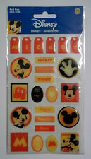 Disney Mickey Mouse Dimensional  Stickers 24 Pcs Sandylion Free Shipping NIP