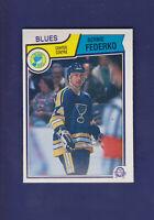 Bernie Federko HOF 1983-84 O-PEE-CHEE OPC Hockey #315 (NM) St. Louis Blues