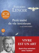 LIVRE AUDIO EBOOK Petit traité de vie intérieure Frédéric Lenoir PAS DE CD