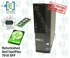 Refurbished Dell 7010 SFF - intel Core i3 - No RAM - No HDD