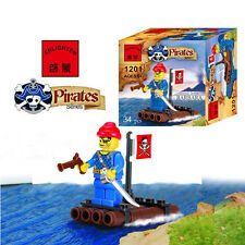 Enlighten Small Raft Pirates Series Blocks Children Educational Toy NO.1201