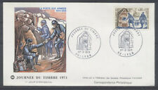 FRANCE FDC - 1671 1 JOURNEE DU TIMBRE - LYON 27 Mars 1971 - LUXE