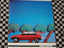 brochure CITROEN VISA 17 RD & D DIESEL 1984 / FRANCAIS
