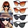 Cat Eye Sunglasses Retro Vintage Shades Oversized Glasses Large Ladies Women