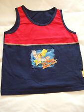 Navy & red T/shirt Age 6-7 years - Simpsons
