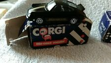 CORGI DIECAST MODEL CAR PORSCHE  RACING BLACK GOLD STRIPE