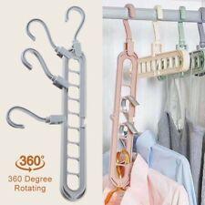 4stk Platzsparende Kleiderbügel Drehbarer Kleiderbügel Platzsparend Magic Hanger