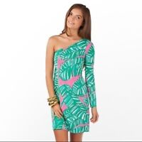 Lilly Pulitzer NWT Whitaker Dress Hotty Pink Let's Go Bananas Size Small Style 9