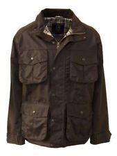 Zip Cotton Collared Raincoats for Men
