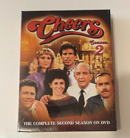 Cheers The Complete Second Season TV Shoes Vintage Classic 4 Discs NWT