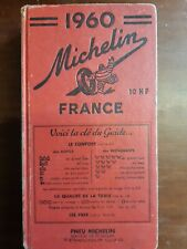 GUIDE MICHELIN FRANCE 1960