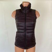 Lululemon Women's Down For A Run Glyde 800 Goose Down Purple Puffer Vest Size 4
