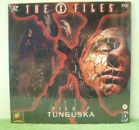The X-Files 7, Tunguska PAL Laser Disc,TV Series,David Duchovny,Gillian Anderson