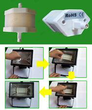 8 x 4.8W R7s Retrofit del sécurité plafonnier,J78 remplacement,3000K lampe