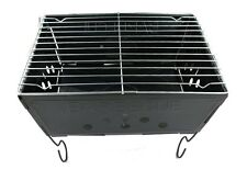 Portable Mini Barbecue Grills 9.5 Inch & LIGHT WEIGHT Hiking, Camping, Picnic