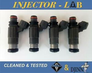 Mitsubishi Colt Galant Lancer Mirage Space injectors CDH166 set of 4 CLEANED