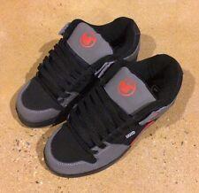 DVS Defy Size 9 Black Grey Nubuck Militia Havoc Transom BMX DC MOTO Skate Shoes