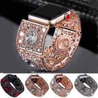 Bracelets for Apple Watch Iwatch 38 42 40 44mm Rhinestone Wrist Watch Band Strap