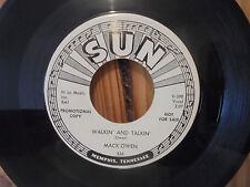 45 SUN 336 Mack Owen Walkin Talkin -  Somebody Just Like You - Promo Copy - Mint