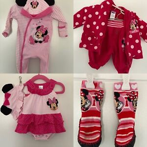 Minnie Mouse Baby Clothes Size 000