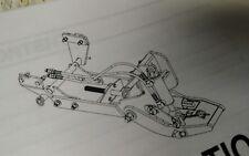 Kubota,  John Deere Tractor Male Quick hitch + Subframe Frame