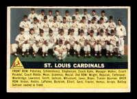 1956 Topps #134 St. Louis Cardinals  EXMT X1575860