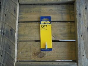 IRWIN T7 x 25mm Torx Insert Bits..6 pack