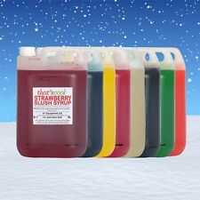 More details for slush syrup slushie ice snow cone drink syrups flavours & colours 5 litre 5l 6:1
