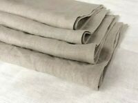 100 % Linen tea towels hand face Set of 2 / 3 pcs natural rgey FLAX color
