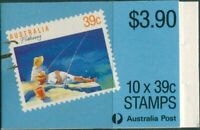 Australia booklet 1989 SG1179 39c Fishing MNH