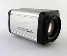 1000TVL CCTV Box Camera 30X Optical Zoom Camera 720p 3.0-90mm Lens OSD Menu