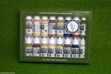 VALLEJO FACE & SKINTONES Model Colour 16 bottle set 70125