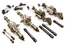 C26601GUN Integy 8X8 Axle DIY Conversion Kit for Scale Off-Road 1/10-1/14 Trucks