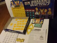 The Simpsons Edition Jeopardy Board Game Complete