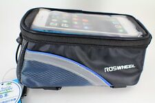 ROSWHEEL Cycling Bicycle bag panniers Frame Front Tube Bag Touch screen